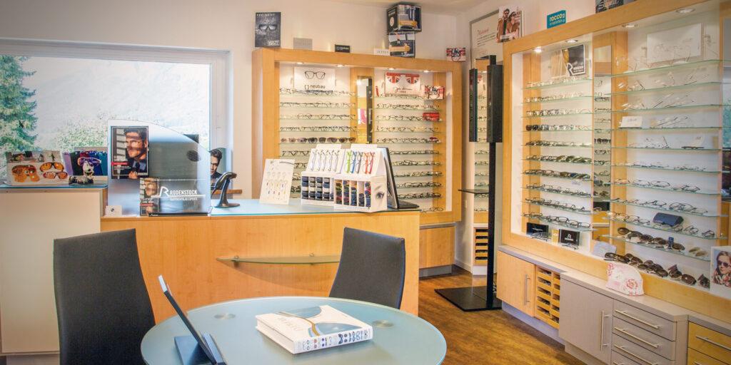 Ladengeschäft Optik Hawlitschek